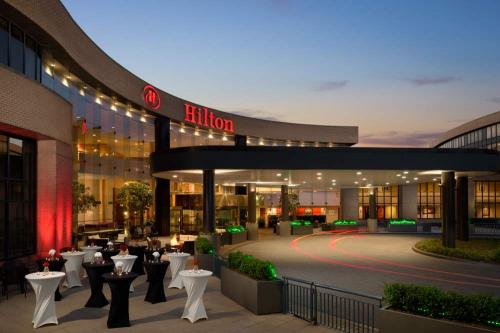 Exterior of the Hilton Washington Dulles Airport Hotel