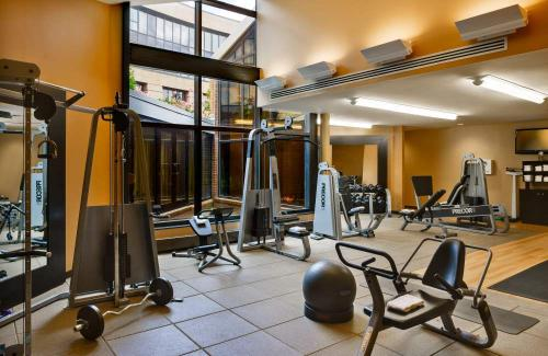 Fitness Center at the Hilton Washington Dulles Airport Hotel