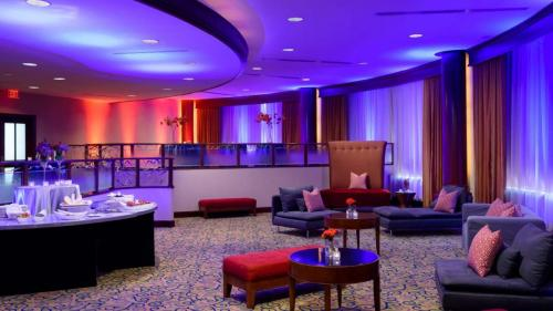 Red Fox room at the Hilton Washington Dulles Airport